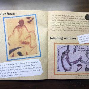My Gandhi Scrapbook