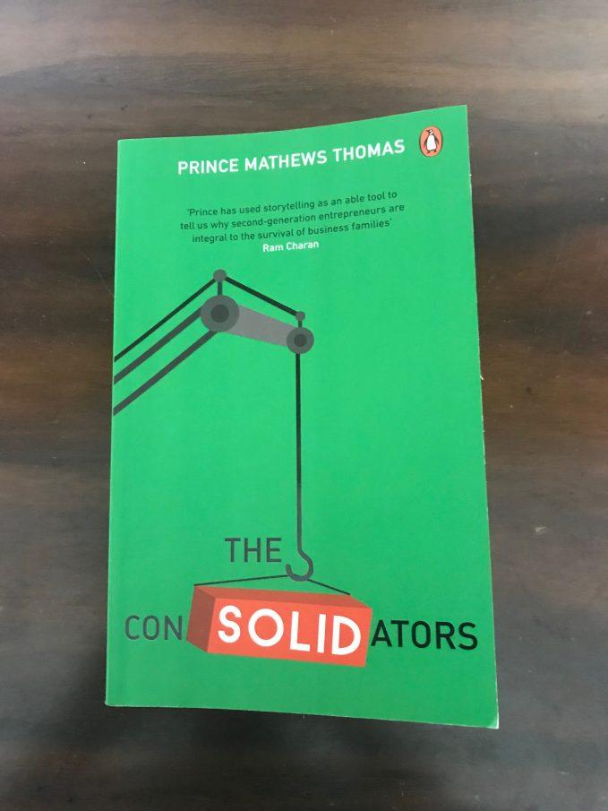 The Consolidatorsby Prince Mathews Thomas, a book on entrepreneurs