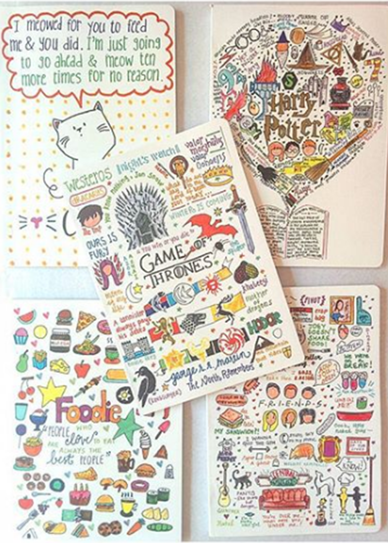 The Doodle Soup: How some really cute doodles are making literature lovers sit up and take notice