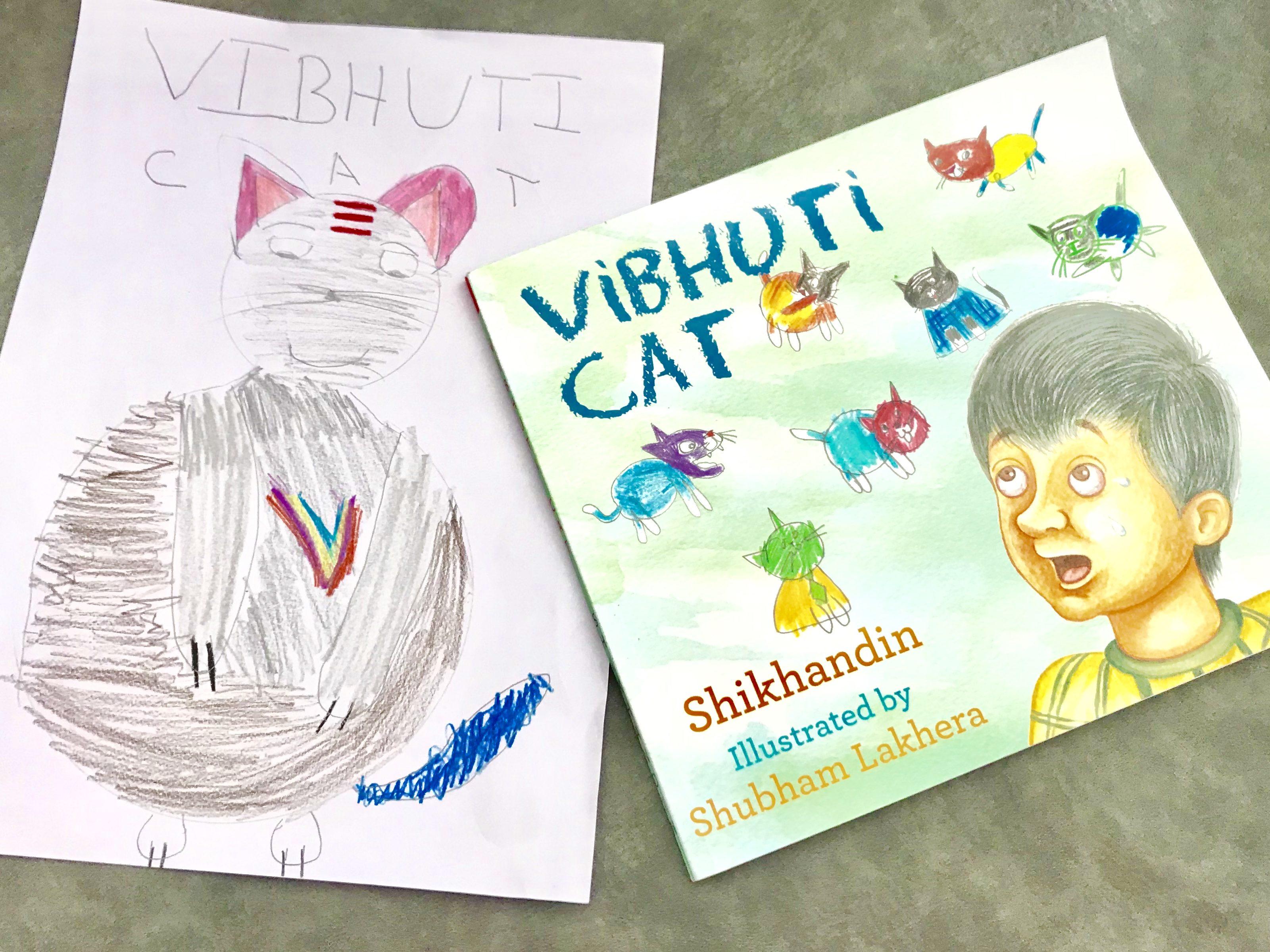 Vibhuti Cat by Shikhandin