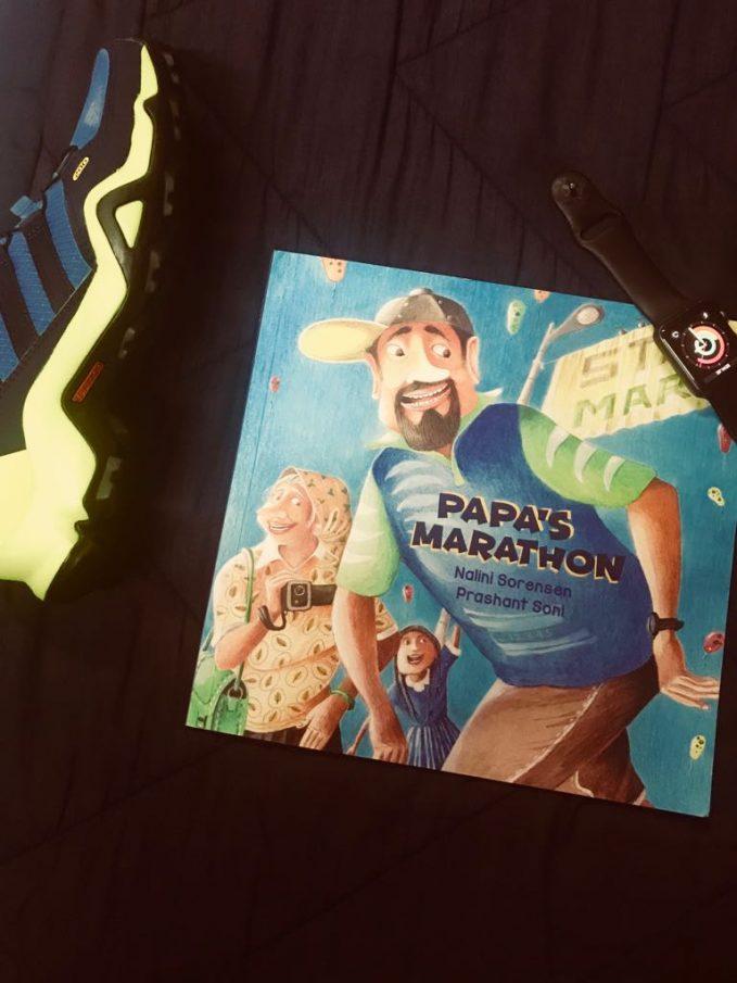 Papa's Marathon by Nalini Sorensen, illustrated by Prashant Soni