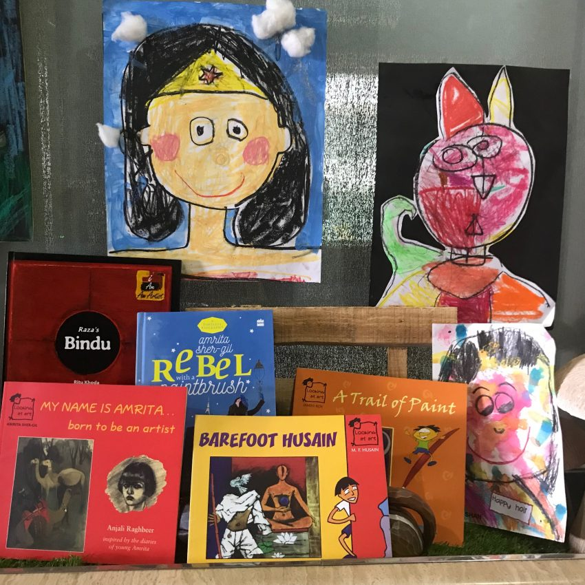 Get ready for an arty summer with these books introducing Indian artists to children