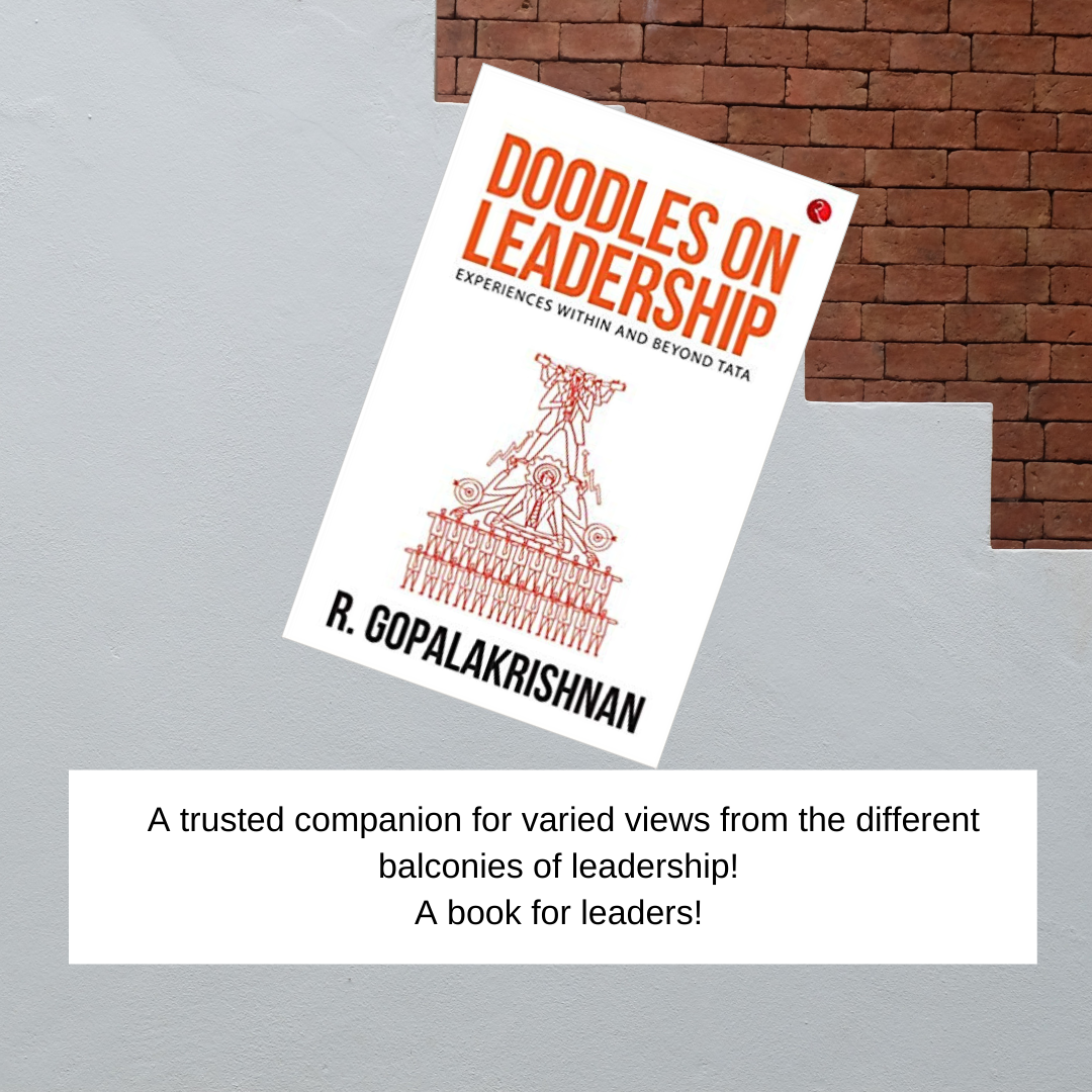 Doodles on Leadership- Experiences within and beyond Tata by R. Gopalakrishnan