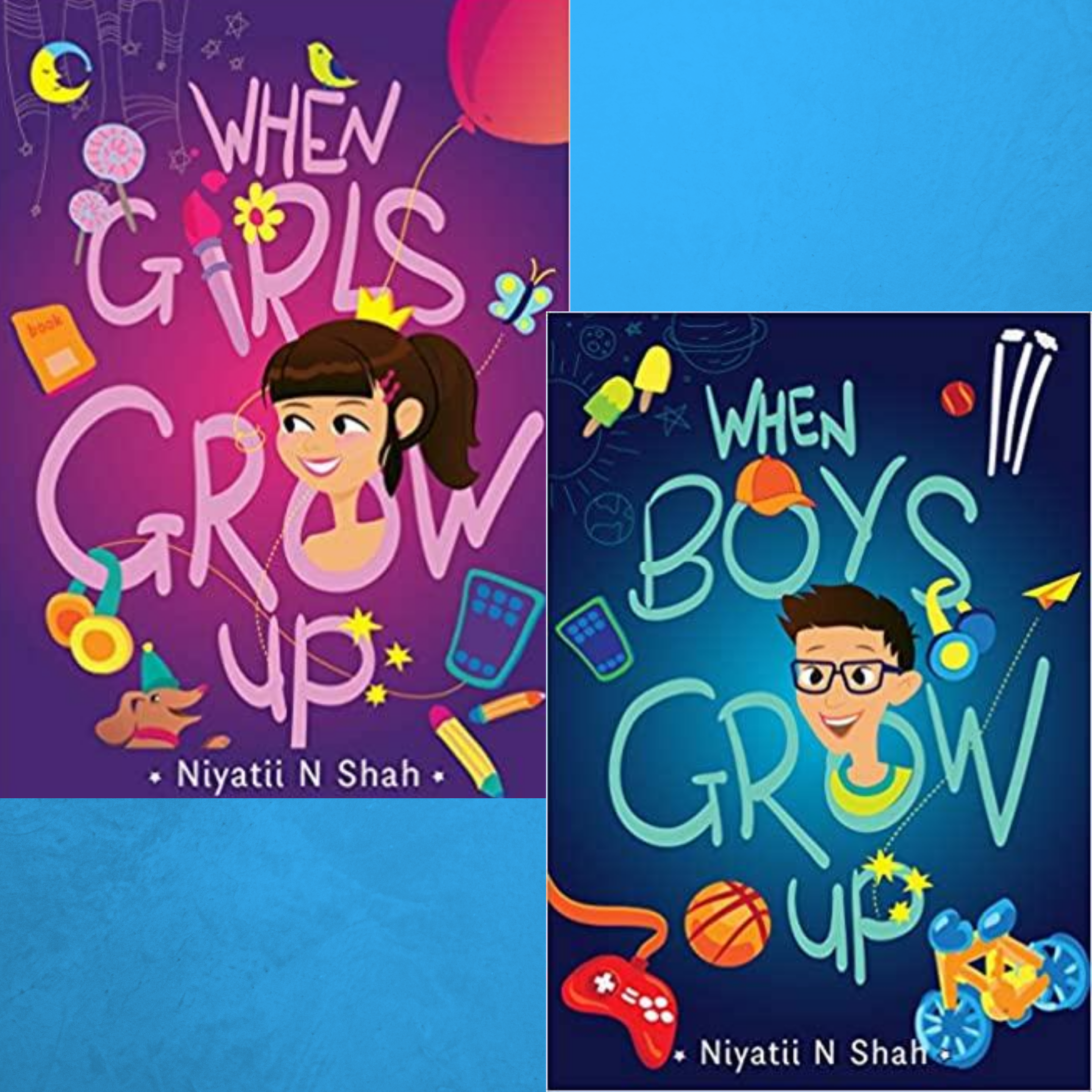 Puberty is an important milestone in the lives of children. Sexuality Educator Counsellor Niyati Shah's books on puberty seek to demystify the process for children. Informative and simple to understand these are a must-read for tweens and teens…and parents!